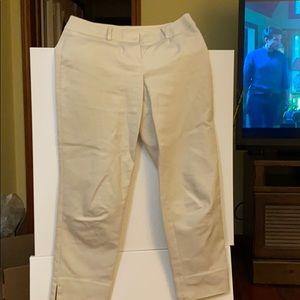 New in 2019 Loft Julie crop pants